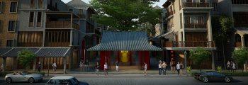 พ.ศ. 2558 : พัฒนา โครงการ Dragon Town (Zy Walk)